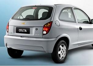 Celta, carro procurado
