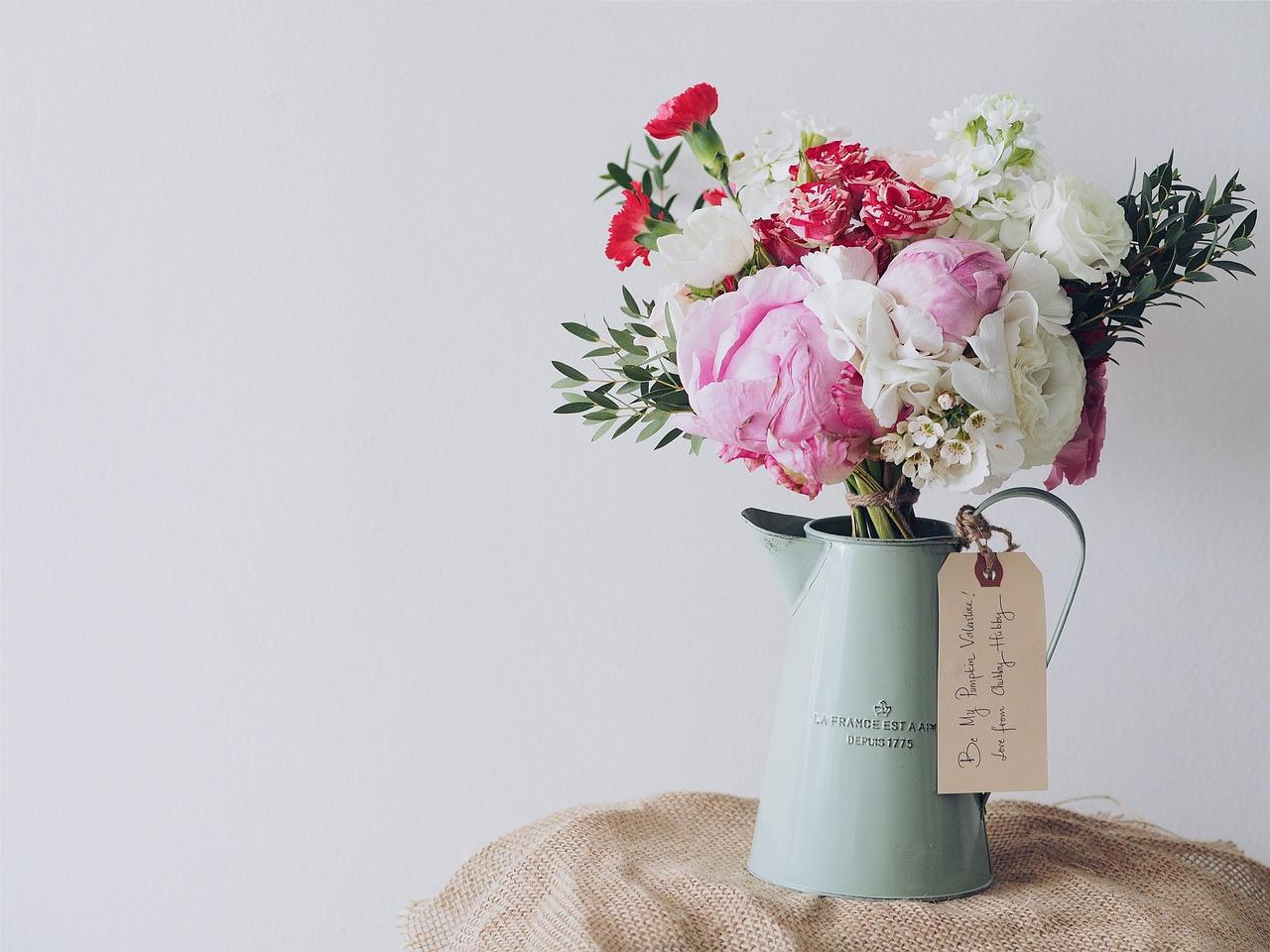 casa - Flores para decoração