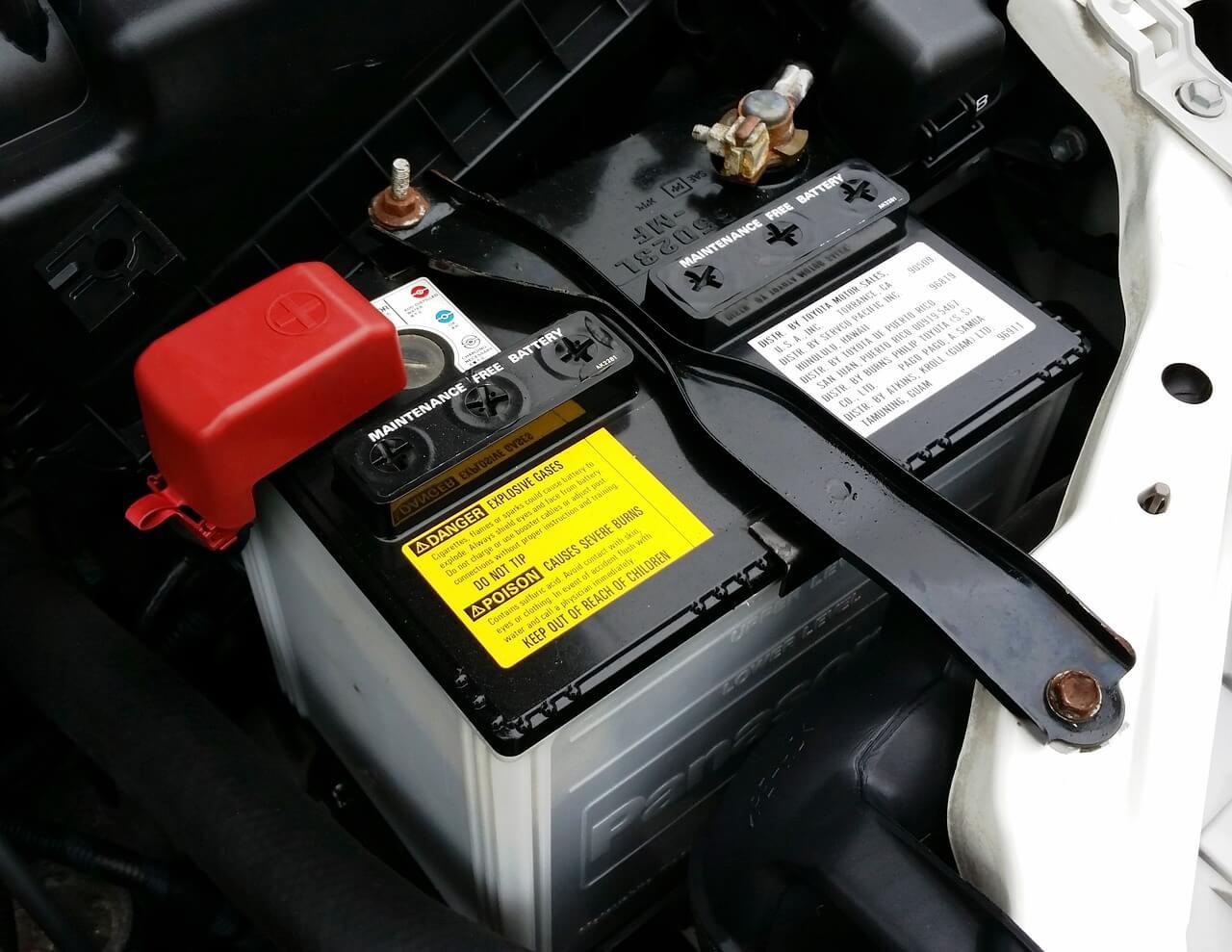 bateria descarregada - é um problema