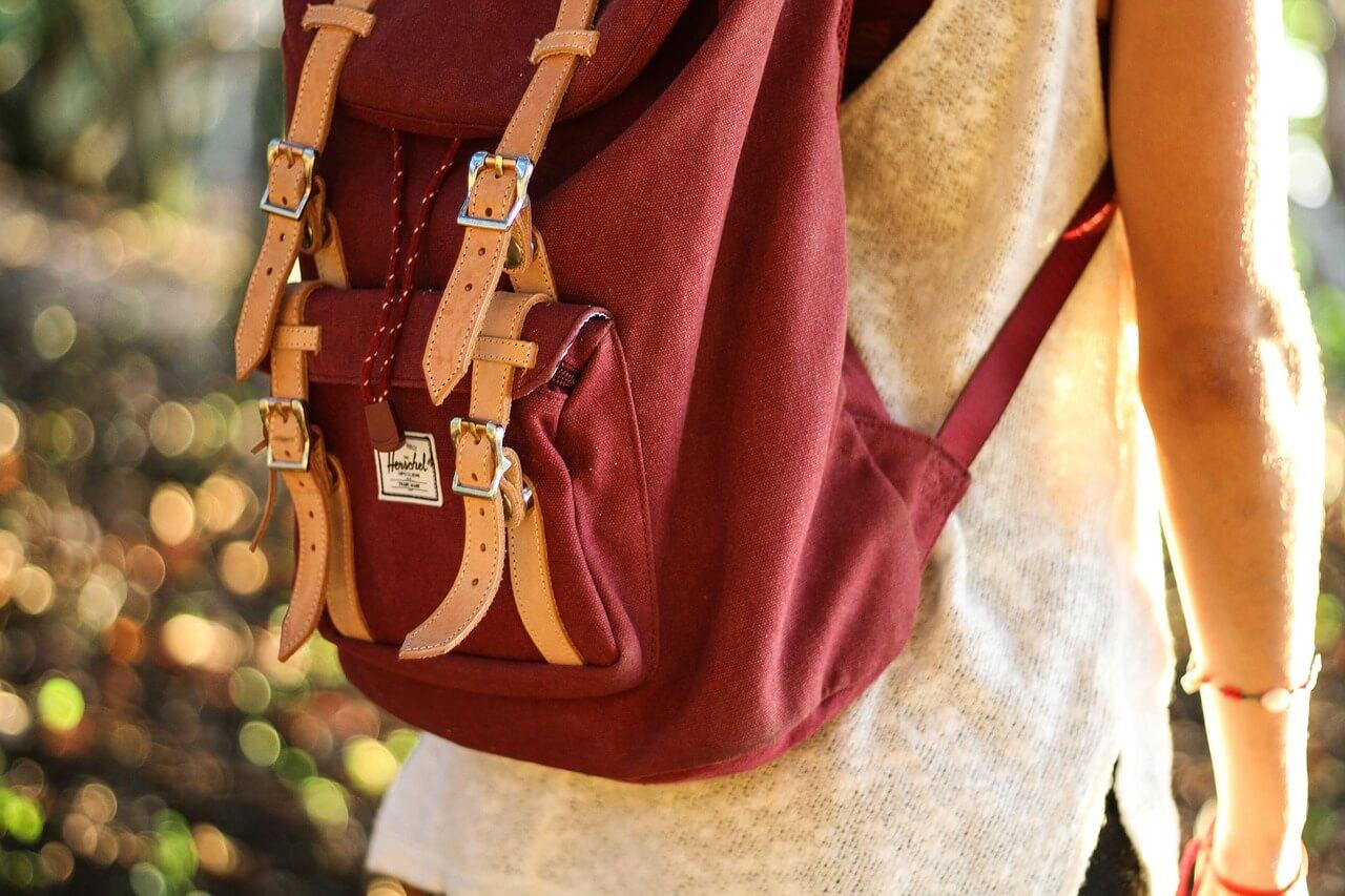 mochila de viagem - acessórios