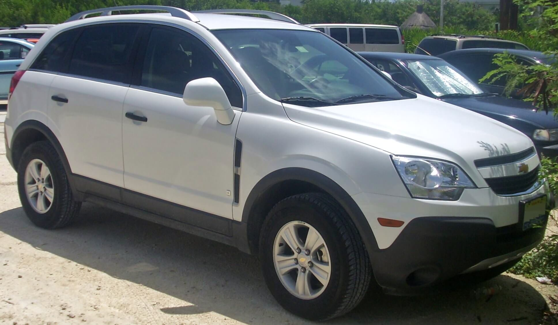 Chevrolet Captiva - carros para viajar