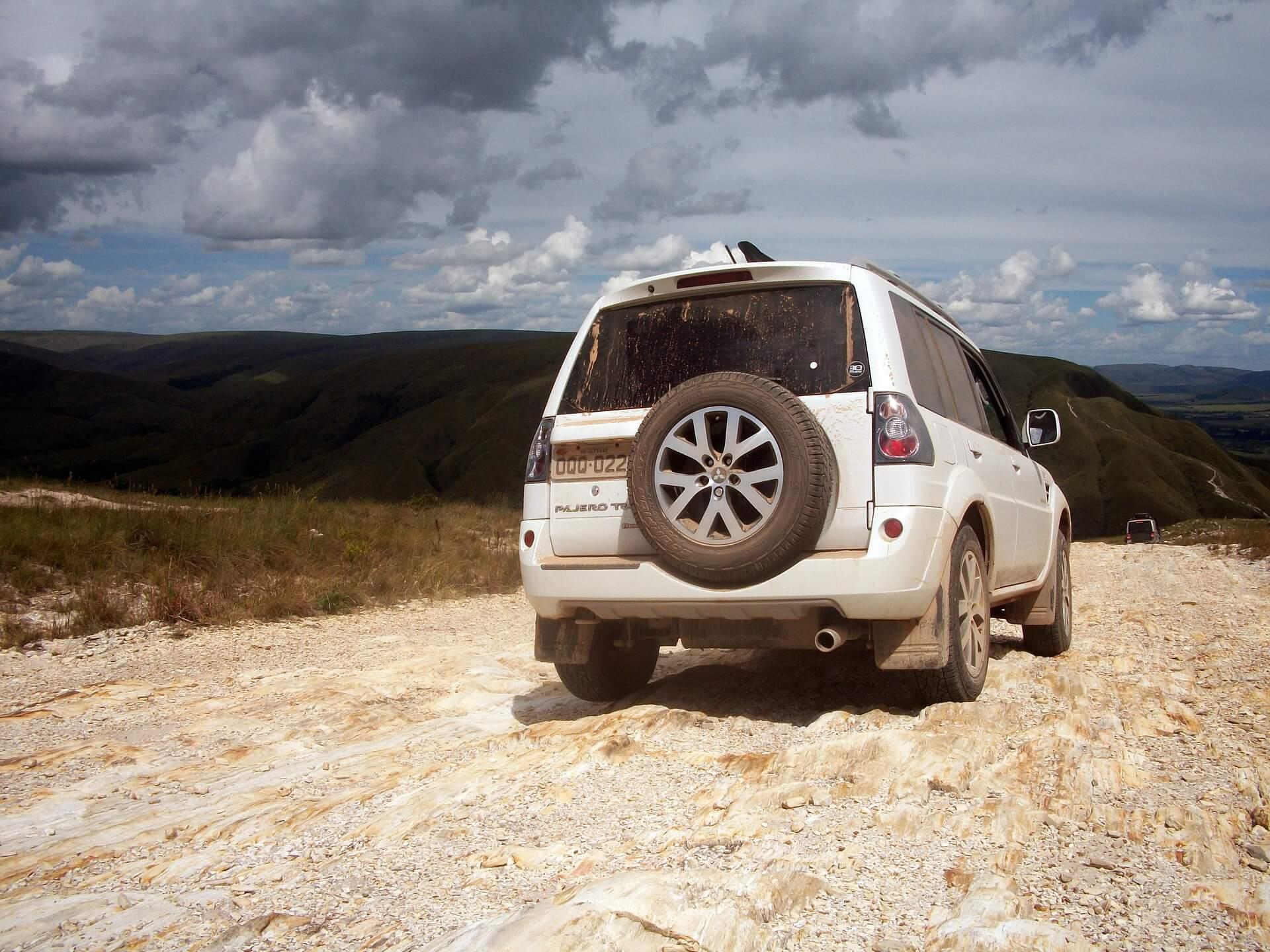 Pajero tr4 - carros para viajar