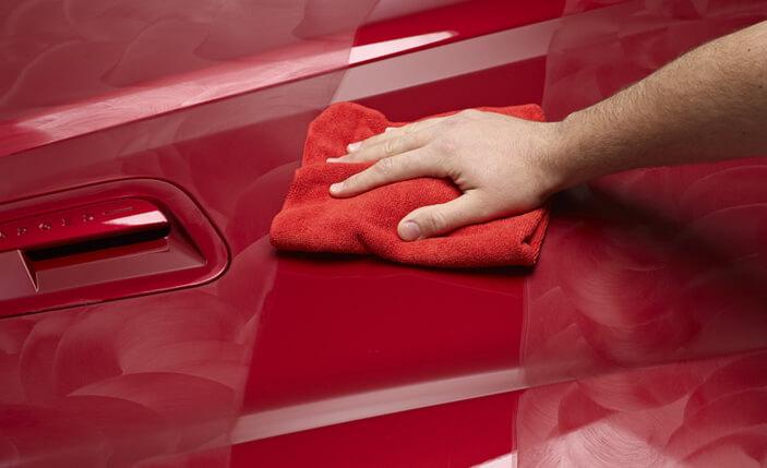 Lavagem a seco - polimento