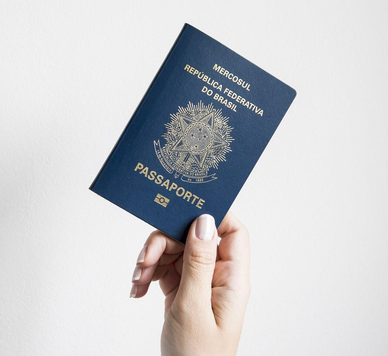viagem para Disney - passaporte brasileiro