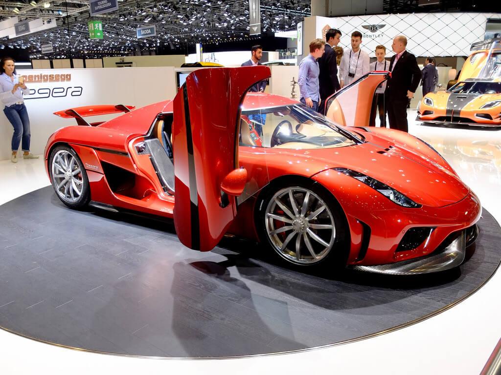 carros mais caros do mundo - Koenigsegg Regera