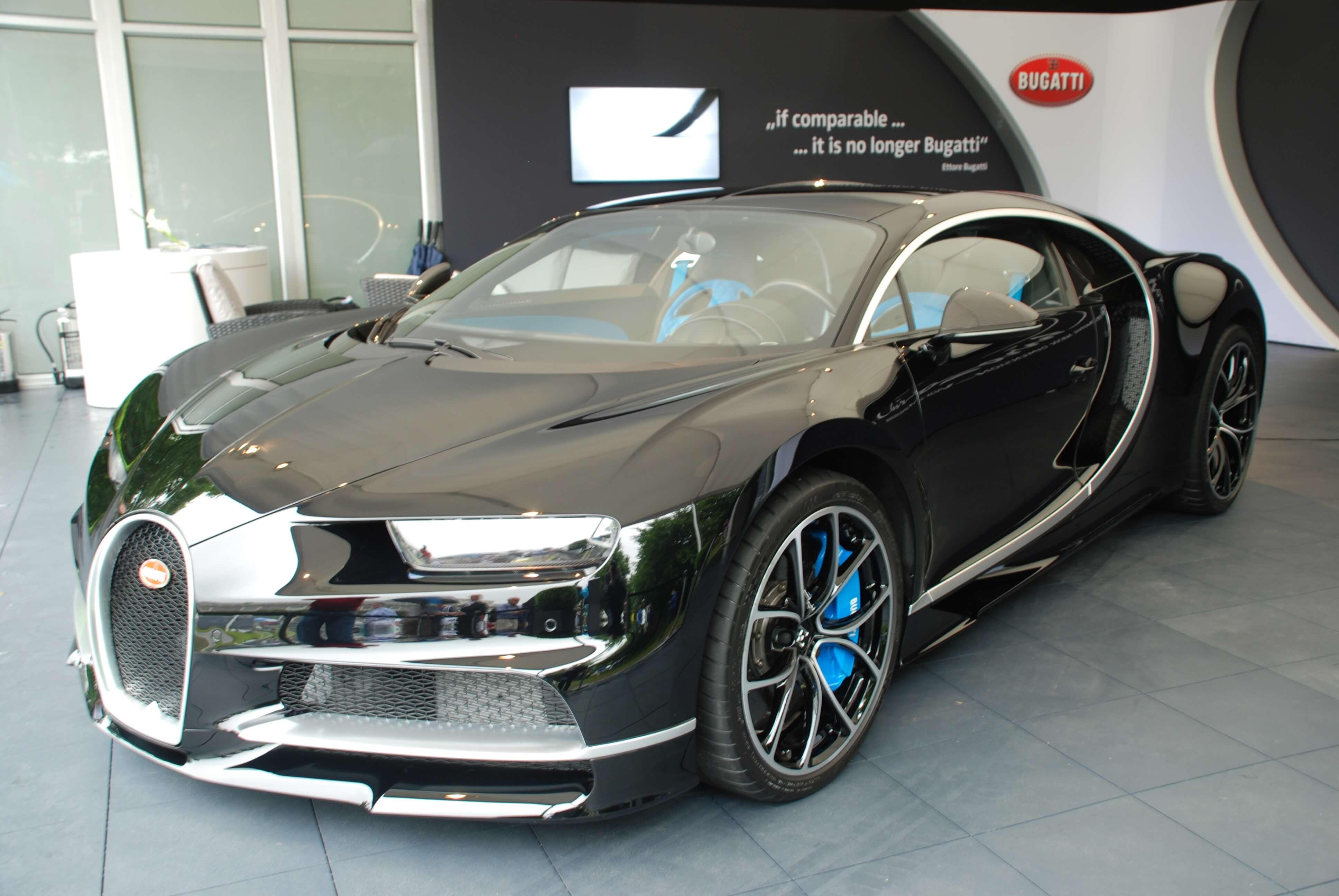 os carros mais caros do mundo - Bugatti Chiron