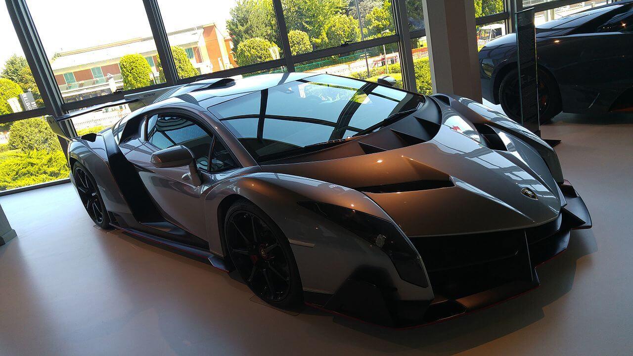 carros mais caros do mundo - Lamborghini Veneno