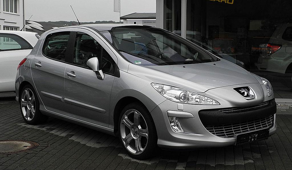 carros esportivos - Peugeot 308