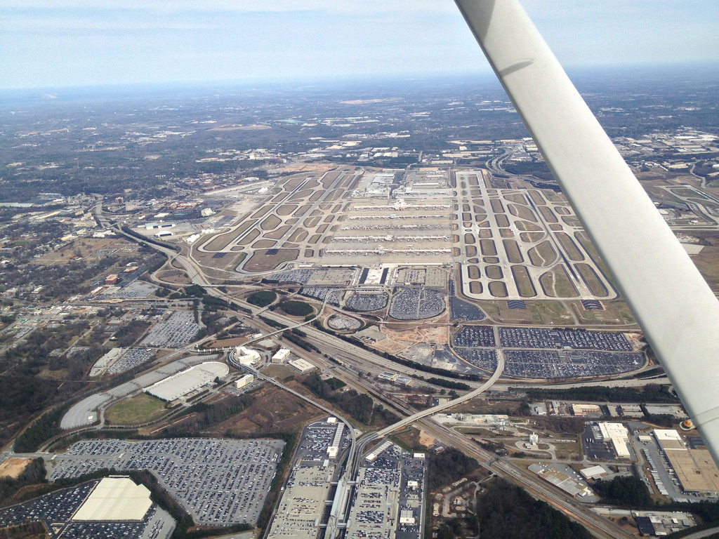 maior aeroporto do mundo