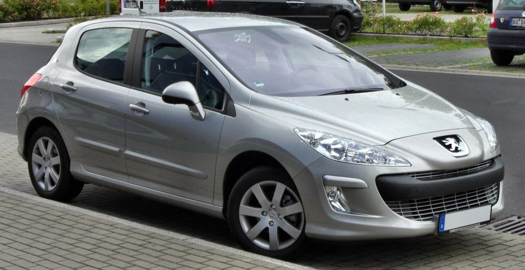 carros usados - Peugeot 308 thp 2014