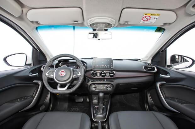 lançamento do Cronos da Fiat - Interior