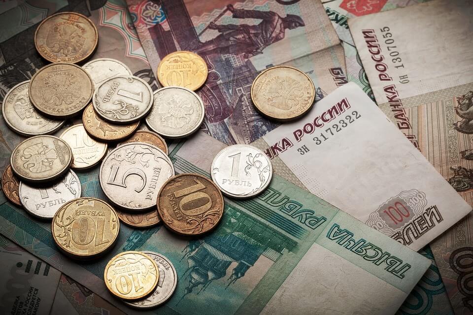 viagem à Rússia - dinheiro