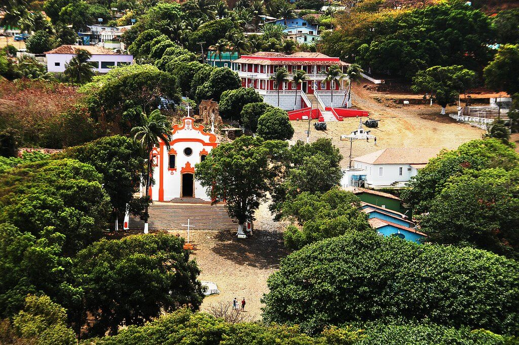 viagem para Fernando de Noronha - Onde se hospedar - Vila dos Remédios
