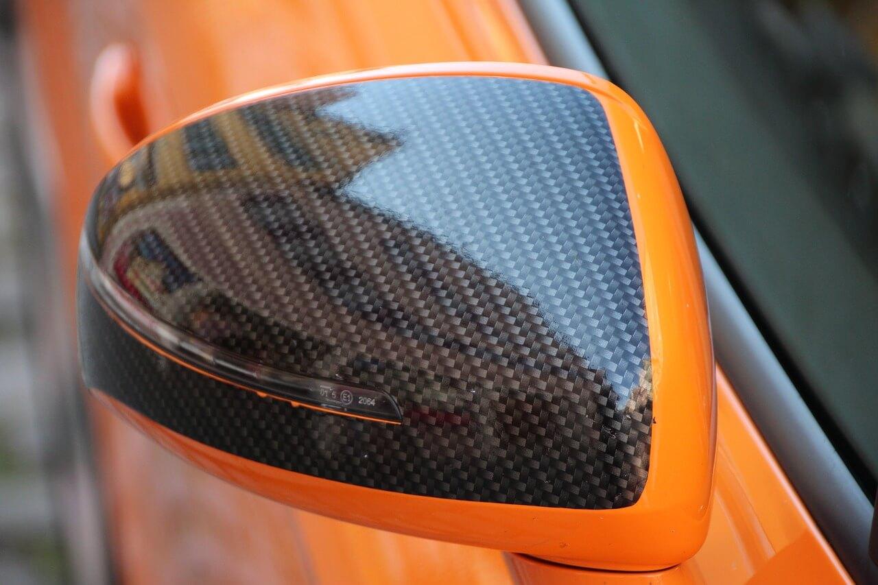 importância dos retrovisores - O espelho convexo