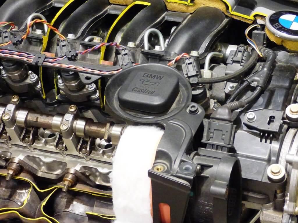 lubrificante do motor - O nível do lubrificante