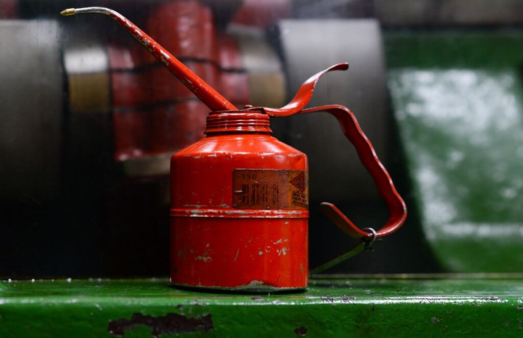 lubrificante do motor - Cor do óleo lubrificante