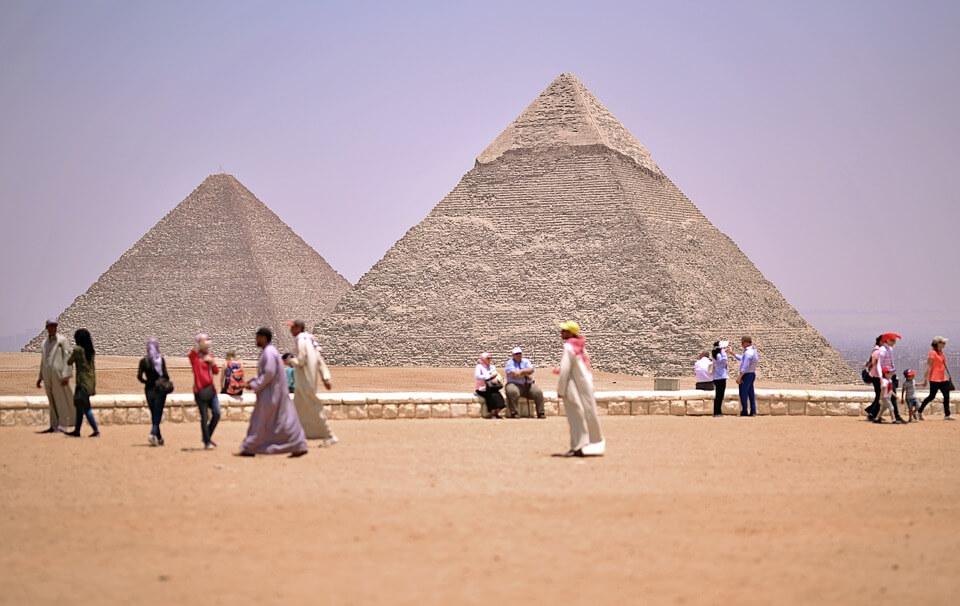 lugares históricos para viajar - Pirâmides de Gizé – Gizé, Egito