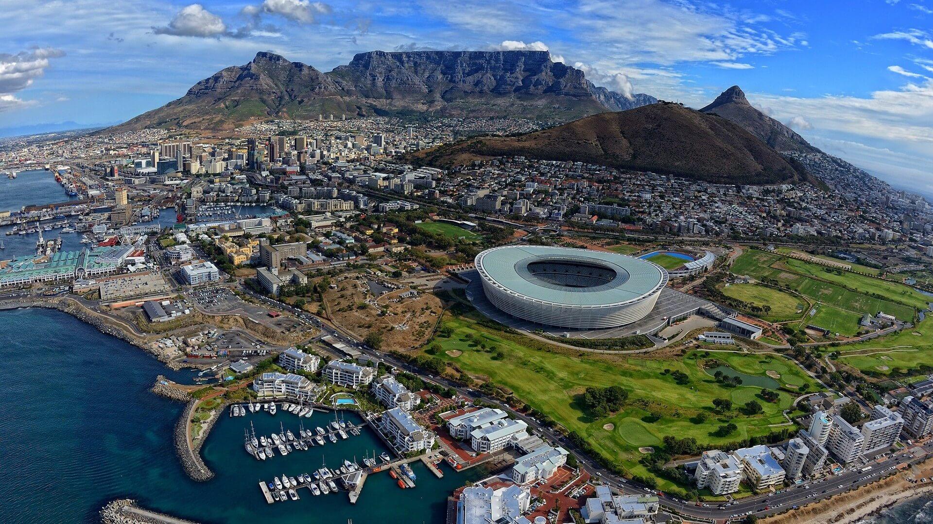 real vale mais - África do Sul