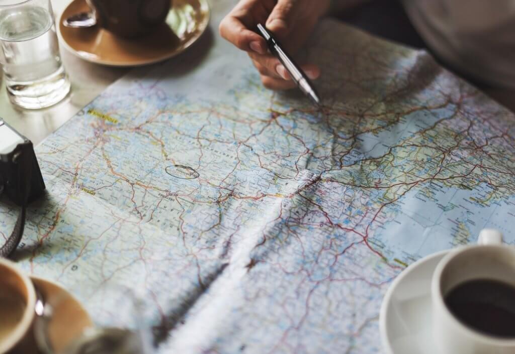 roteiro de viagem - No roteiro de viagem, escolha quais destinos serão visitados