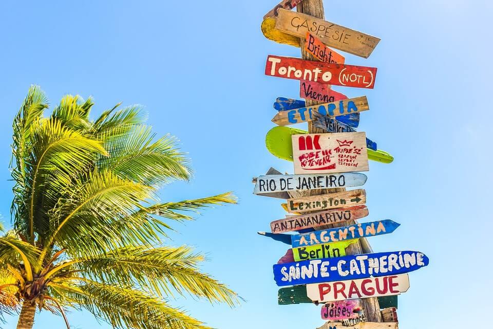 roteiro de viagem - Comece o roteiro de viagem escolhendo o lugar para onde ir