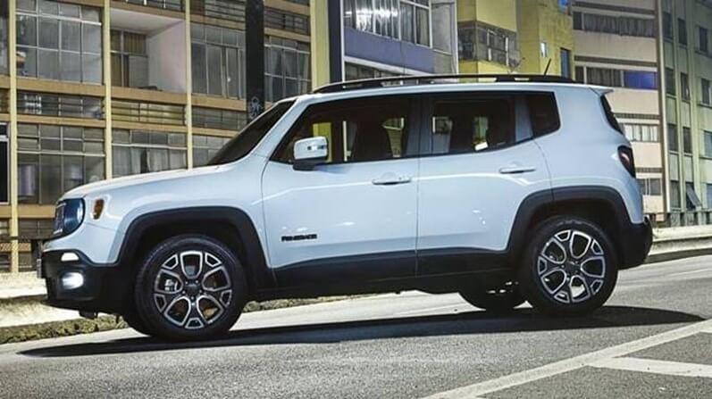 carros mais baratos com xenon - Jeep Renegade Limited 1.8 Flex – R$ 99.990
