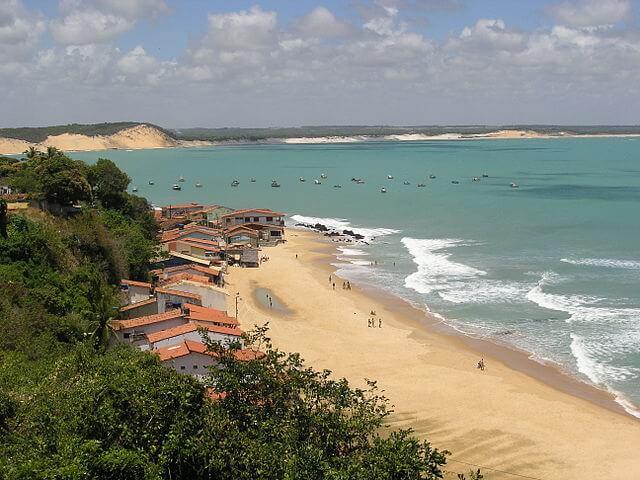 praias para surfar - Baía Formosa, Rio Grande do Norte