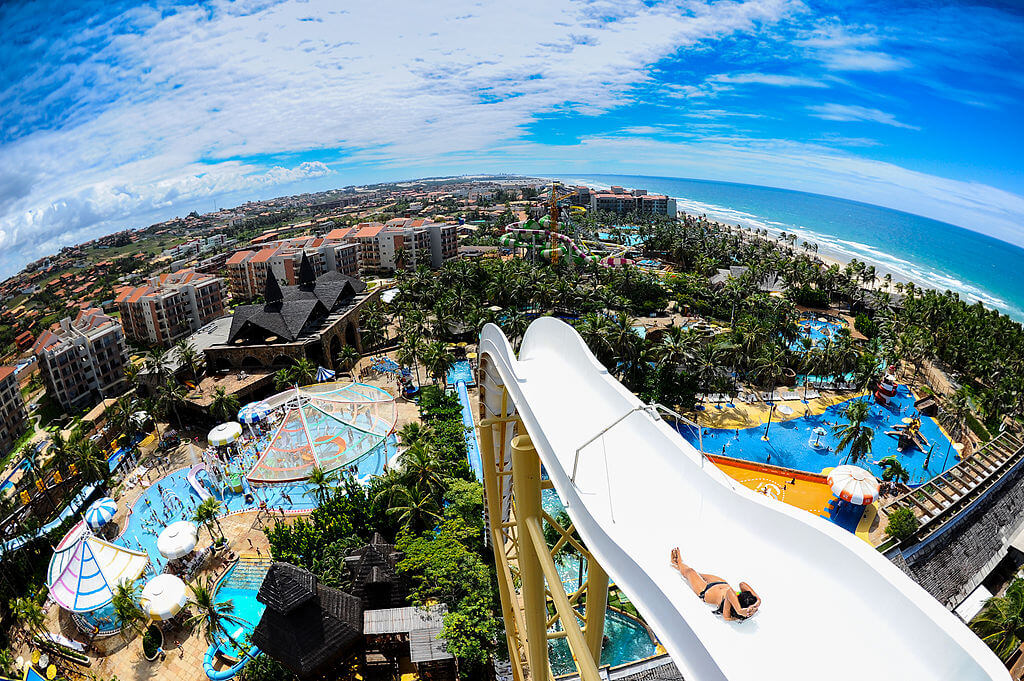 parques aquáticos no Brasil - Beach Park – Aquiraz, Ceará