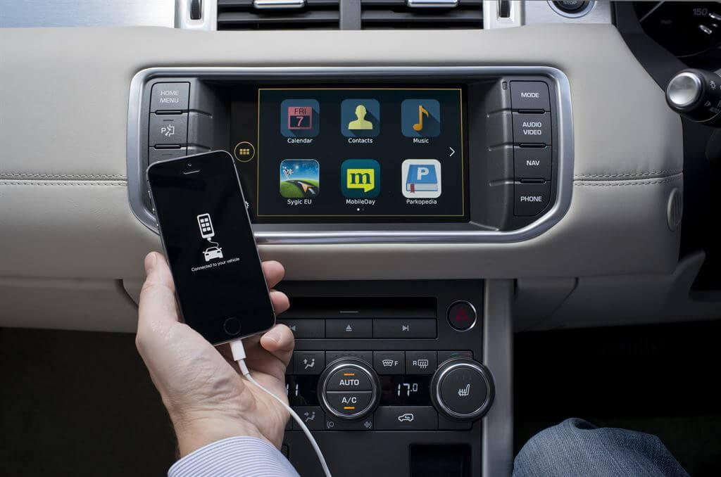 central multimídia - Ele integra dispositivos móveis
