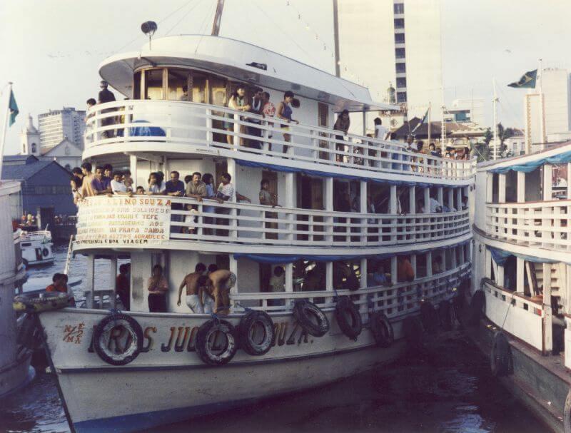 de Manaus à Belém - A embarcação