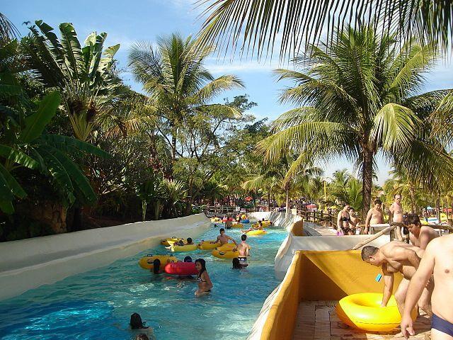 parques aquáticos no Brasil - Thermas dos Laranjais – Olimpia, São Paulo