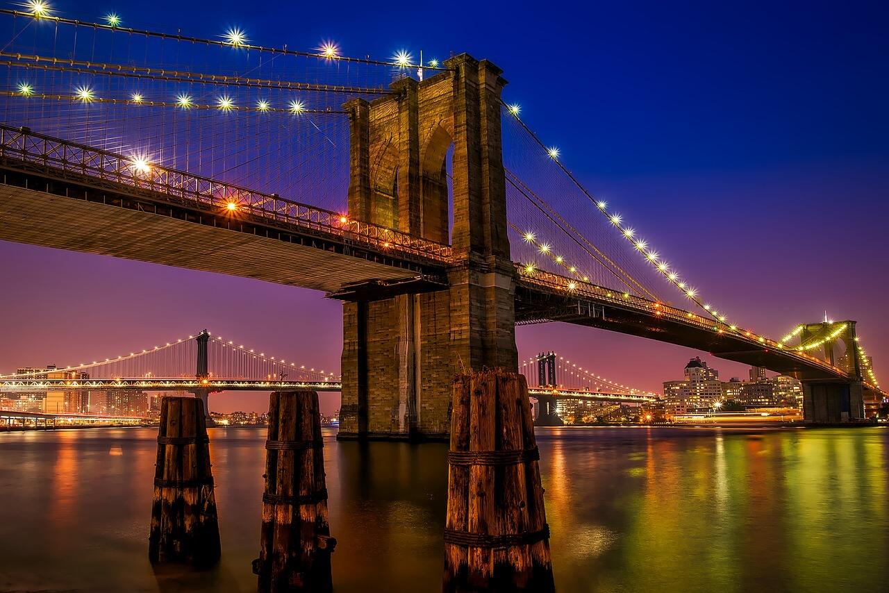 pontos turísticos de Nova York - Ponte do Brooklyn