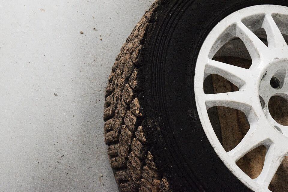 trocar os pneus - Bolhas e rompimentos