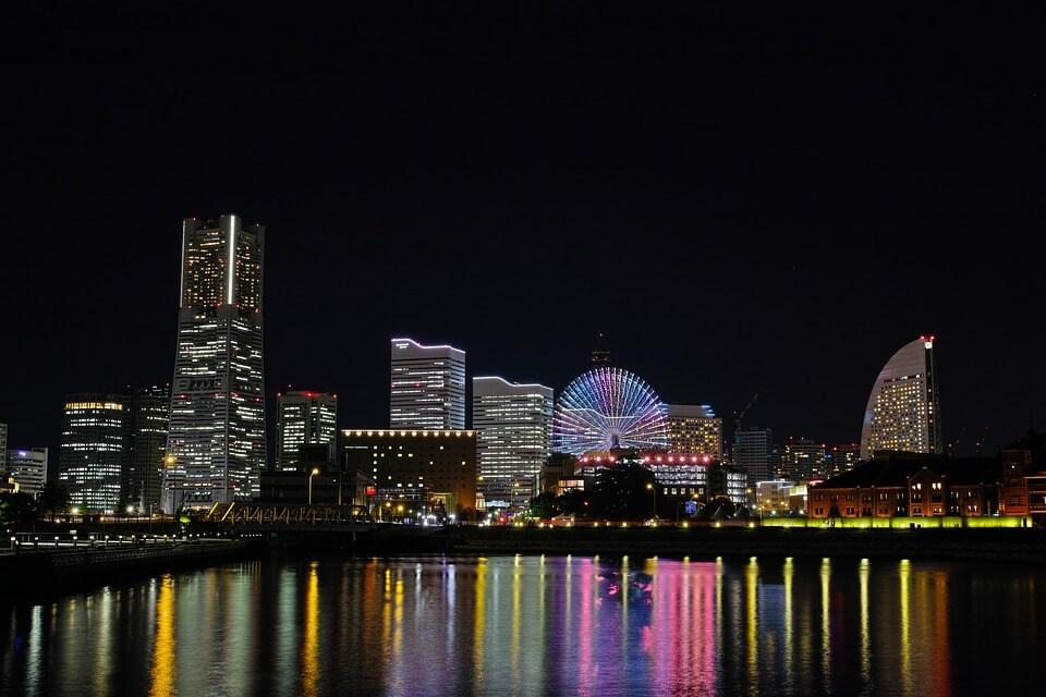 cidades do Japão - Yokohama, capital de Kanagawa
