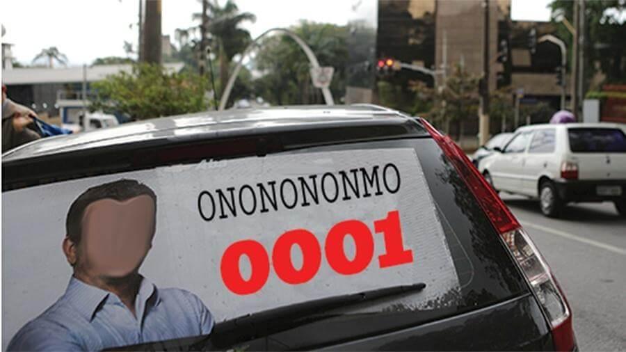 propaganda eleitoral carros