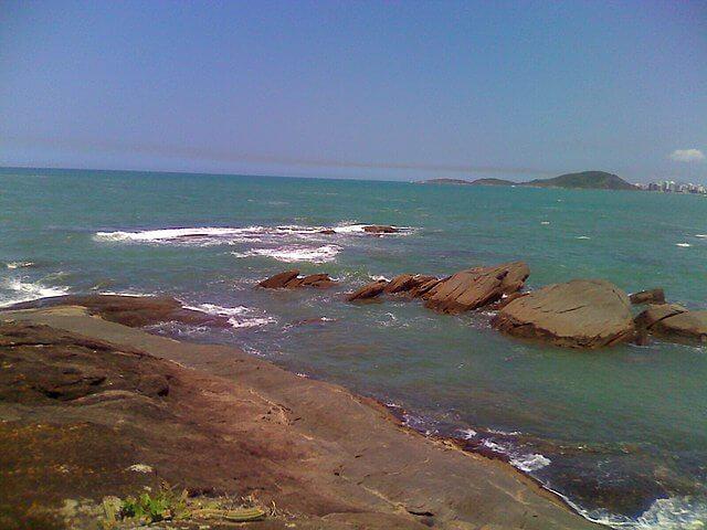 lugares para pescar - Litoral do Espírito Santo
