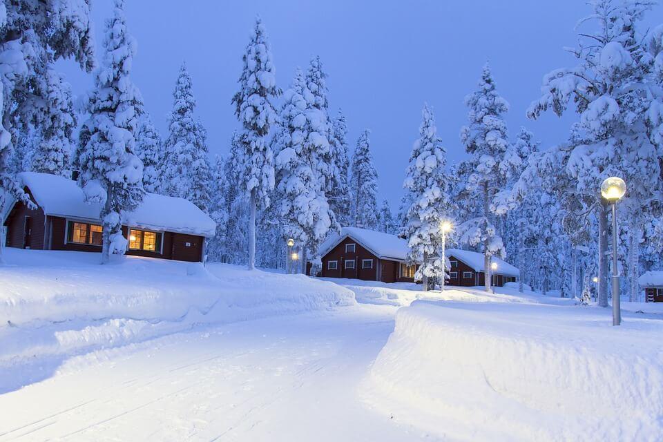 Destinos para o Natal - Lapônia - Finlândia