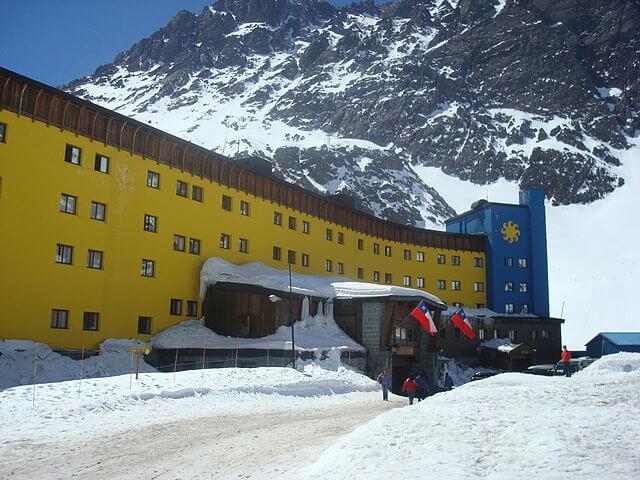 esquiar na América do Sul - Portillo - Chile