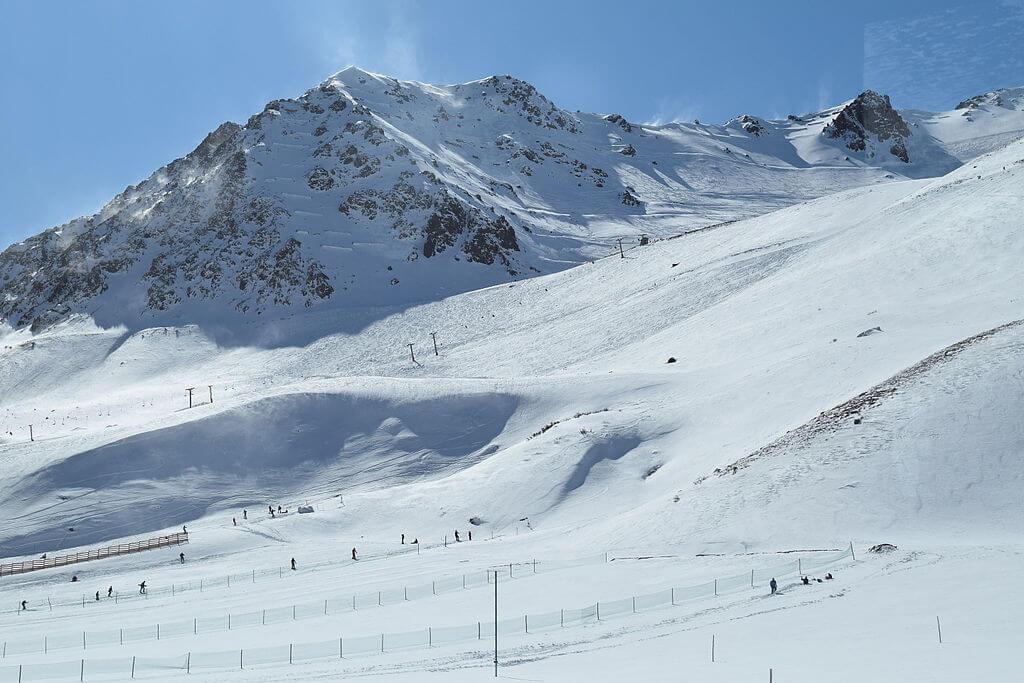 esquiar na América do Sul - Penitentes - Argentina