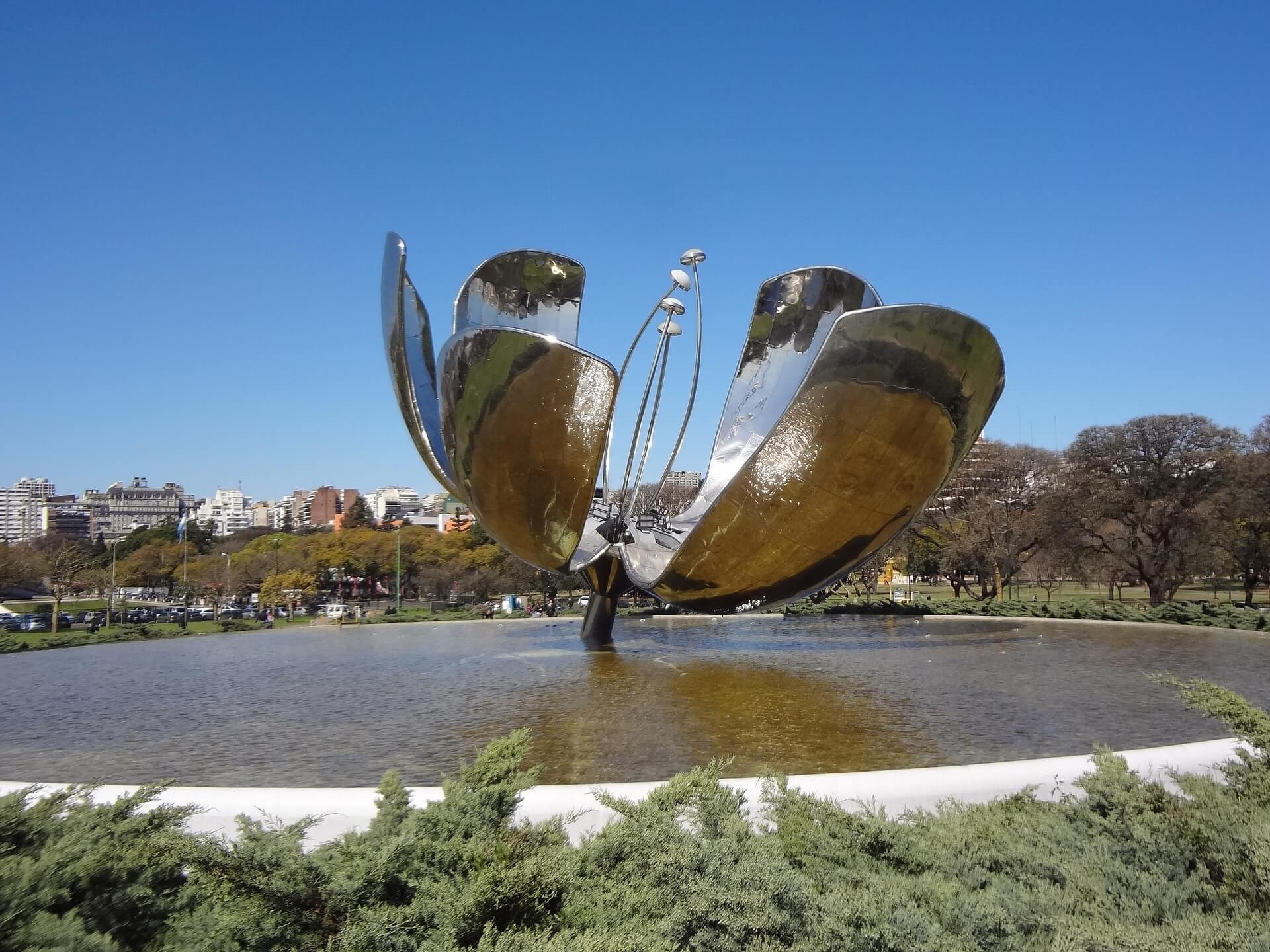 floralis pontos turísticos de Buenos Aires
