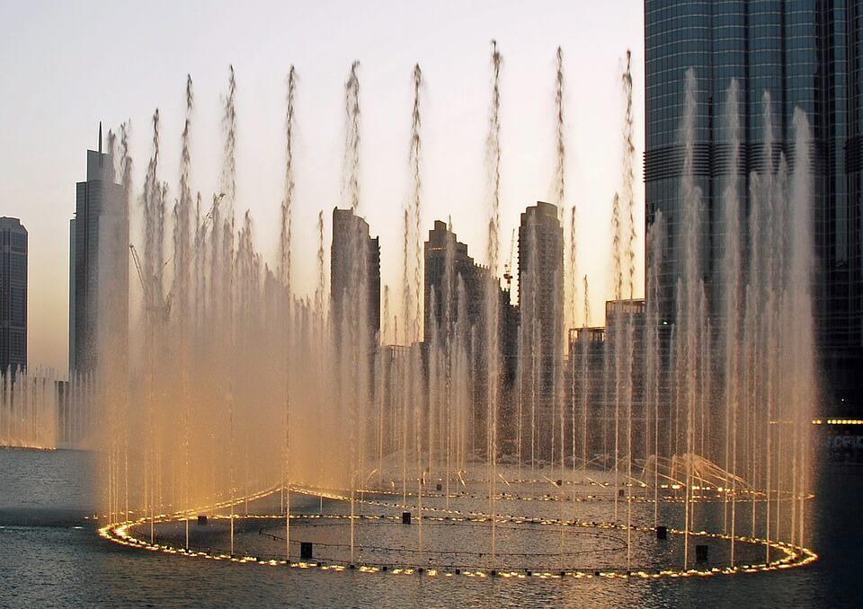 pontos turísticos em Dubai - Dubai Fountais