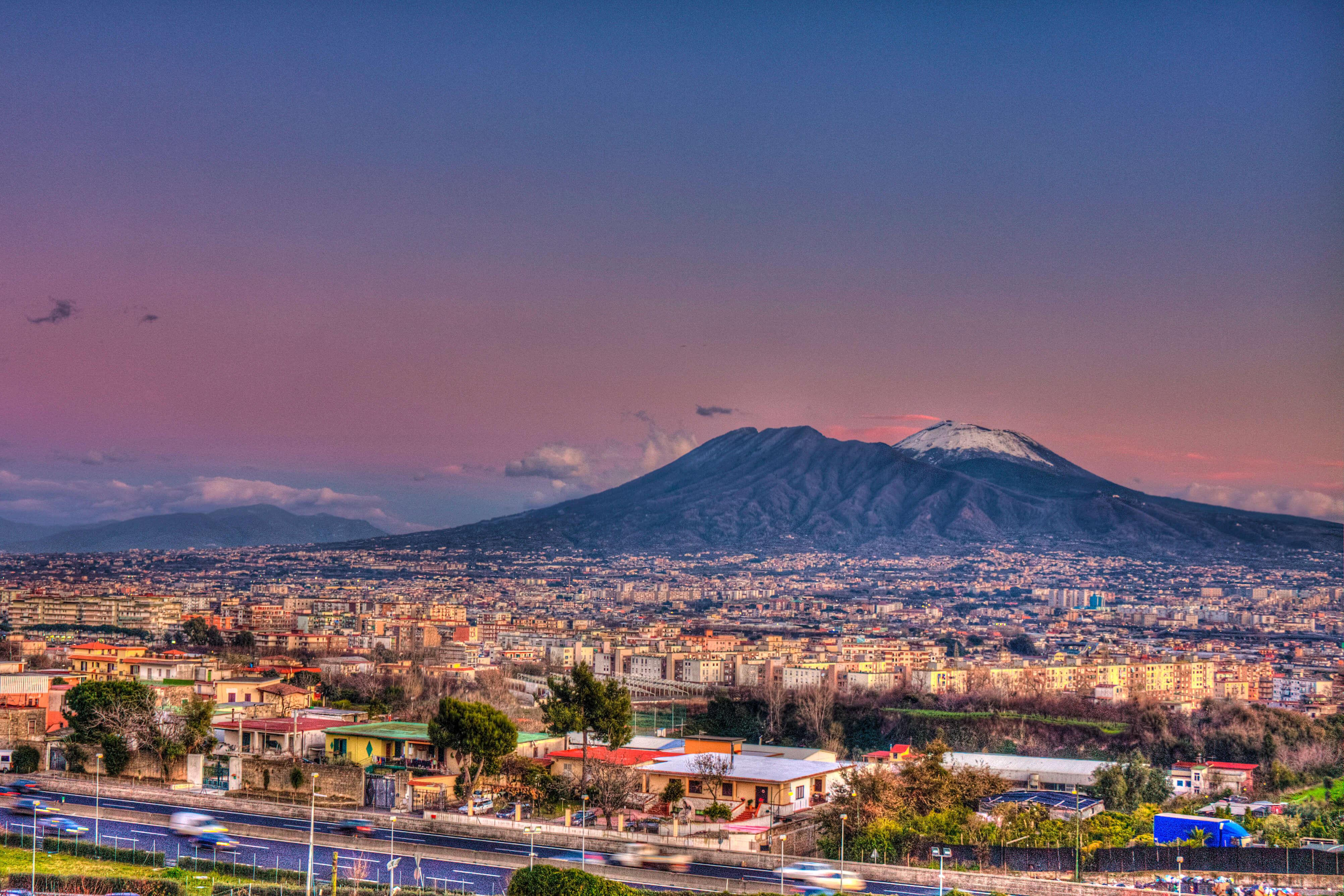 vulcões para conhecer - Vesúvio, Itália