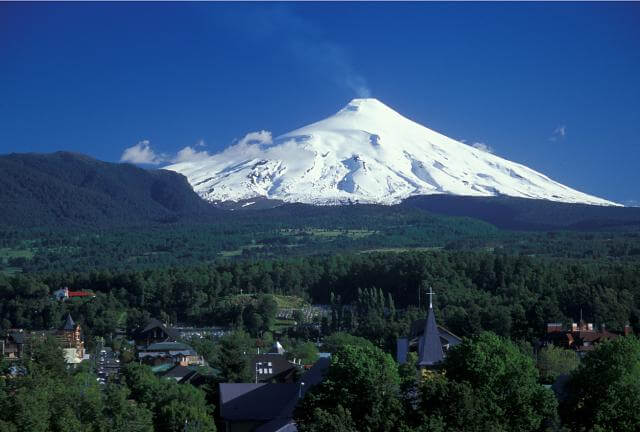 vulcões para conhecer - Villarica, Chile