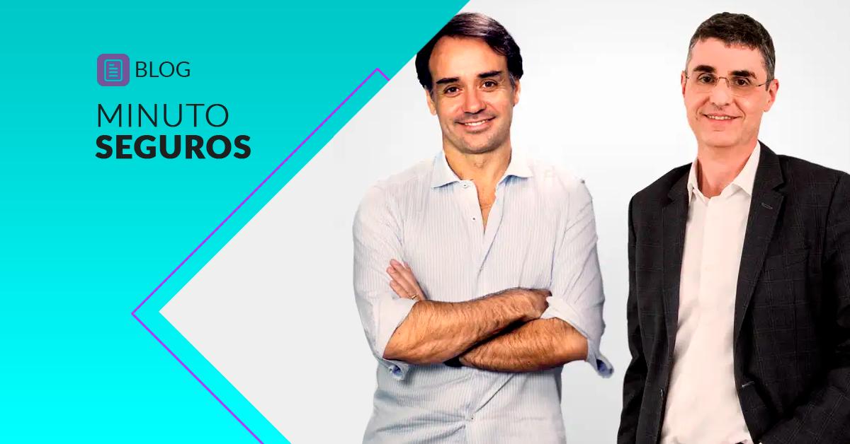 Sergio Furio (Creditas) e Marcelo Blay (Minuto Seguros)